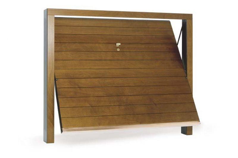 Porte basculanti in legno centro service - Porte fai da te legno ...